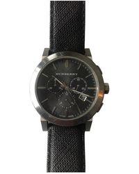 Burberry Uhren - Schwarz
