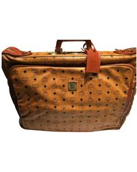 MCM Leather Travel Bag - Multicolour