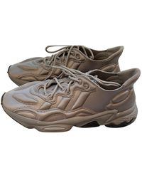adidas Ozweego Leinen Sneakers - Grau