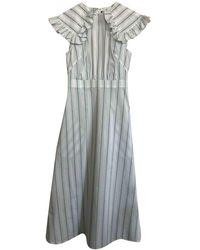 CALVIN KLEIN 205W39NYC Maxi Dress - White