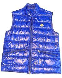 Moncler Sleeveless Daunenjacke - Blau