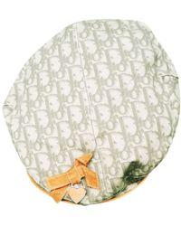 Dior Leinen Baskenmütze - Grün