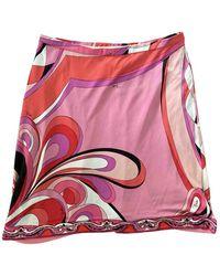 Emilio Pucci Mini Skirt - Pink