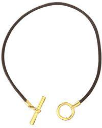 Hermès Glenan Necklace - Metallic