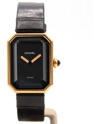 Chanel Montres Première en Or jaune Doré - Multicolore