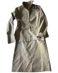 Jil Sander Silk Suit Jacket - Natural
