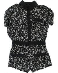 Louis Vuitton Silk Jumpsuit - Black