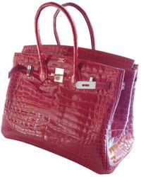 Hermès - Birkin 35 Krokodil Handtaschen - Lyst