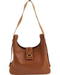 Hermès Leder Handtaschen - Braun