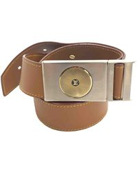 Louis Vuitton Leather Belt - Brown