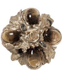 Chanel Boucles d'oreilles en Métal Doré - Métallisé