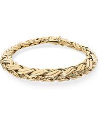 Tiffany & Co. - Yellow Gold Bracelet - Lyst