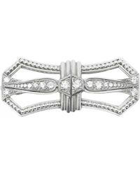 Tiffany & Co. Platin Broschen - Mettallic