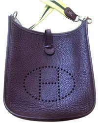 Hermès Evelyne Leder Cross Body Tashe - Mehrfarbig