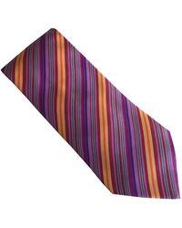 Hermès Seide Krawatten - Lila