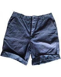 Woolrich Bermudas jeans - Blau