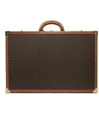 Céline Brown Cloth Travel Bag
