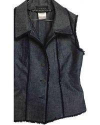 Chanel Short Vest - Blue