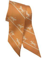 Hermès - Twilly Silk Scarf - Lyst