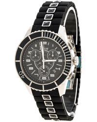 Dior Christal Chronographe Black Steel Watch
