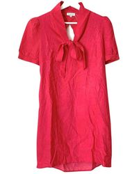 Claudie Pierlot Pink Viscose Dress