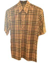 Burberry Shirt - Natural