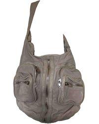 Alexander Wang Donna Leather Handbag - Gray