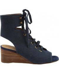 Chloé - Cloth Sandals - Lyst