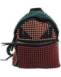 Fendi - \n Black Polyester Backpack - Lyst