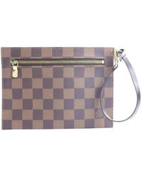 Louis Vuitton Pochette en Toile Marron - Multicolore