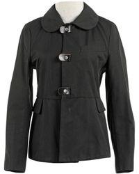 Marni - Black Cotton Jacket - Lyst