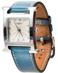 Hermès - Pre-owned Heure H Watch - Lyst