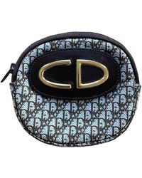 Dior Portamonete in Tela - Marrone