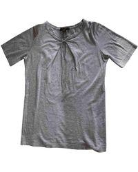 Louis Vuitton Grey Cotton Top
