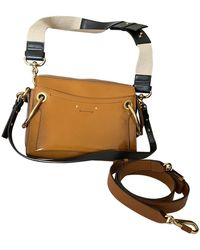 Chloé Roy Patent Leather Crossbody Bag - Multicolour