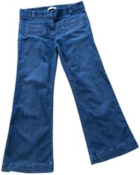 Sandro Breite jeans - Blau