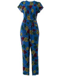 Marc By Marc Jacobs - Blue Silk Jumpsuits - Lyst