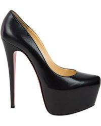 Pre-owned - Daffodile leather heels Christian Louboutin A2ySNd5wE