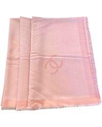 Chanel Kaschmir Stola - Pink
