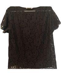 Zimmermann Lace Blouse - Black