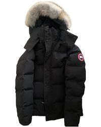Canada Goose Mantel en Synthétique Noir