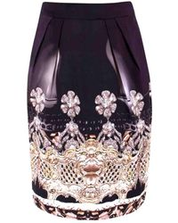 Mary Katrantzou Multicolour Silk Skirt