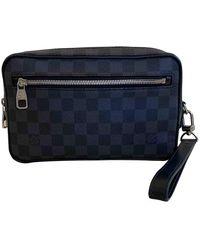 Louis Vuitton KasaÏ Leinen Taschen - Schwarz