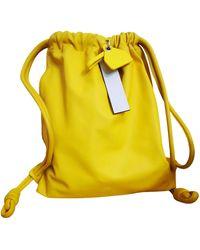 Loewe Leder Taschen - Gelb