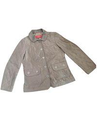 Burberry Jacke Polyester Khaki - Mehrfarbig