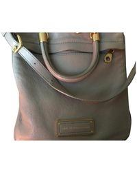 Marc By Marc Jacobs Ecru Leather Handbag - Green