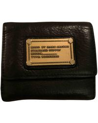 Marc By Marc Jacobs Black Leather Wallets