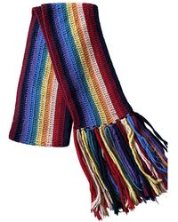 Marc Jacobs Wool Scarf - Multicolor