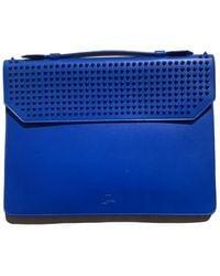 Christian Louboutin Leather Bag - Blue