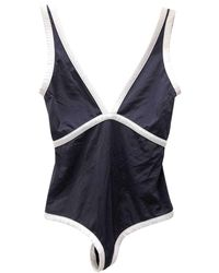 Chanel One-piece Swimsuit - Blue